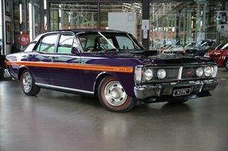 1971 Ford Falcon XY GT Purple 4 Speed Manual Sedan.