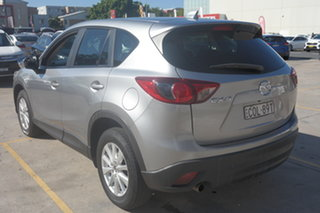 2013 Mazda CX-5 KE1031 MY13 Maxx SKYACTIV-Drive AWD Silver 6 Speed Sports Automatic Wagon
