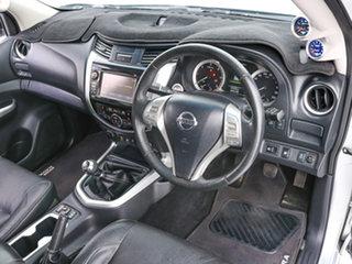 2015 Nissan Navara NP300 D23 ST-X (4x4) Silver 6 Speed Manual Dual Cab Utility