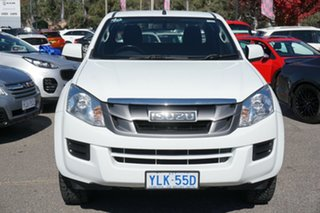 2016 Isuzu D-MAX MY15.5 SX Space Cab 4x2 High Ride White 5 Speed Sports Automatic Utility.