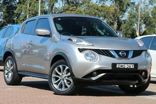 2016 Nissan Juke F15 Series 2 ST X-tronic 2WD Silver 1 Speed Constant Variable Hatchback.