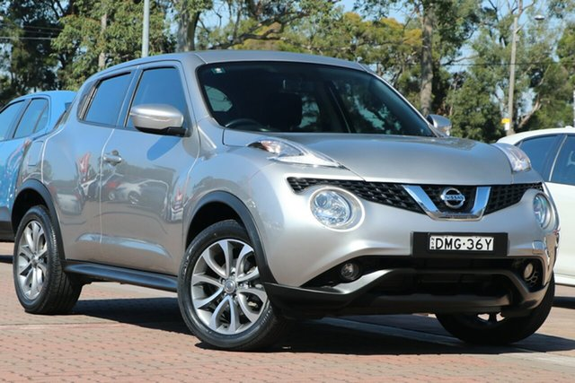 Pre-Owned Nissan Juke F15 Series 2 ST X-tronic 2WD Warwick Farm, 2016 Nissan Juke F15 Series 2 ST X-tronic 2WD White 1 Speed Constant Variable Hatchback