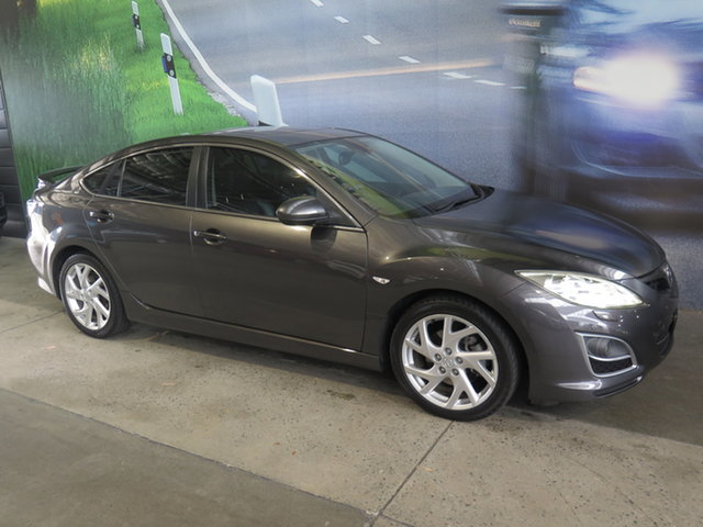 Used Mazda 6 GH MY11 Luxury Sports Osborne Park, 2012 Mazda 6 GH MY11 Luxury Sports Grey 5 Speed Auto Activematic Hatchback