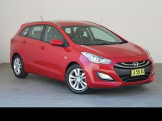 2014 Hyundai i30 GD Tourer Active 1.6 GDi Red 6 Speed Automatic Wagon.