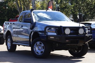 2016 Ford Ranger PX MkII XL Silver 6 Speed Manual Utility.