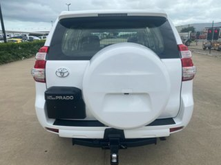 2016 Toyota Landcruiser Prado GDJ150R GX White/180416 6 Speed Sports Automatic Wagon