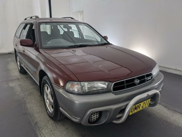 Used Subaru Outback B2A AWD Maryville, 1997 Subaru Outback B2A AWD Red 4 Speed Automatic Wagon
