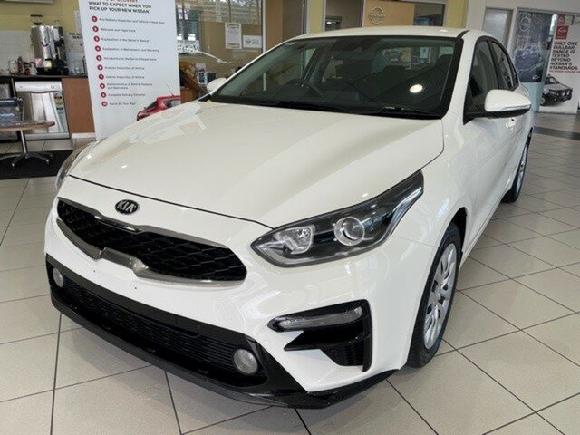 Used Kia Cerato BD MY20 S Augustine Heights, 2019 Kia Cerato BD MY20 S Clear White 6 Speed Sports Automatic Sedan