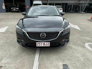 2016 Mazda 6 GJ1032 Atenza SKYACTIV-Drive Black 6 Speed Sports Automatic Sedan.