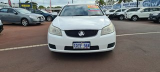2008 Holden Epica EP MY09 CDX White 6 Speed Sports Automatic Sedan.