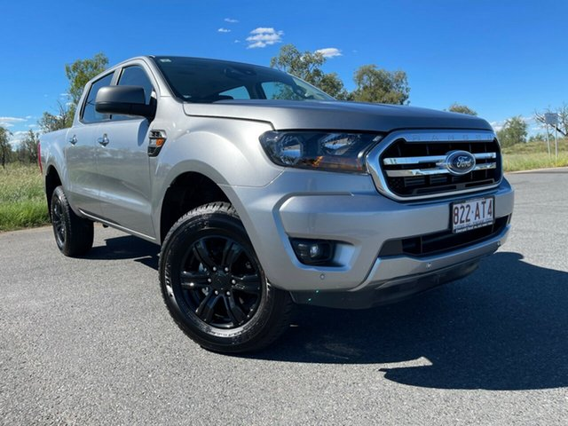 Used Ford Ranger PX MkIII 2021.25MY XLS Emerald, 2020 Ford Ranger PX MkIII 2021.25MY XLS Aluminium Silver 6 Speed Sports Automatic Double Cab Pick Up