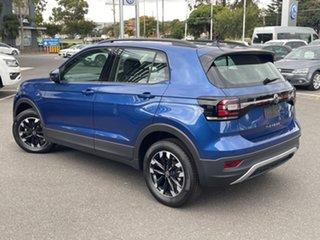 2021 Volkswagen T-Cross C1 MY21 85TSI DSG FWD Life Blue 7 Speed Sports Automatic Dual Clutch Wagon.