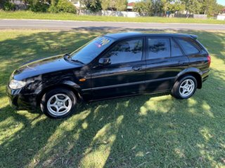 2003 Mazda 323 BJ II-J48 Astina Black 4 Speed Automatic Hatchback.