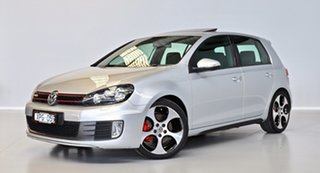 2010 Volkswagen Golf VI MY10 GTI DSG Silver 6 Speed Sports Automatic Dual Clutch Hatchback.