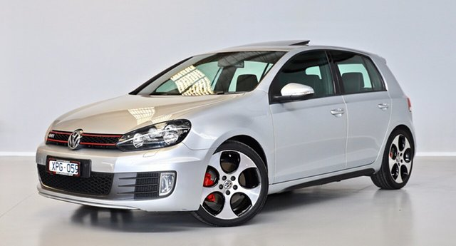 Used Volkswagen Golf VI MY10 GTI DSG Thomastown, 2010 Volkswagen Golf VI MY10 GTI DSG Silver 6 Speed Sports Automatic Dual Clutch Hatchback