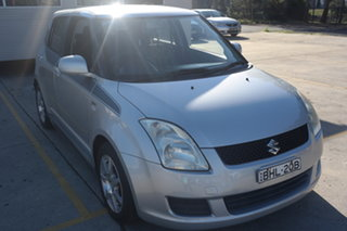 2008 Suzuki Swift RS415 Z Series Silver 4 Speed Automatic Hatchback.
