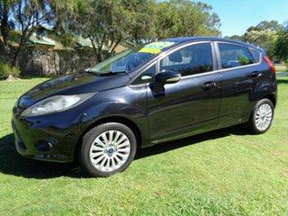 2012 Ford Fiesta WT LX PwrShift Black 6 Speed Sports Automatic Dual Clutch Hatchback.