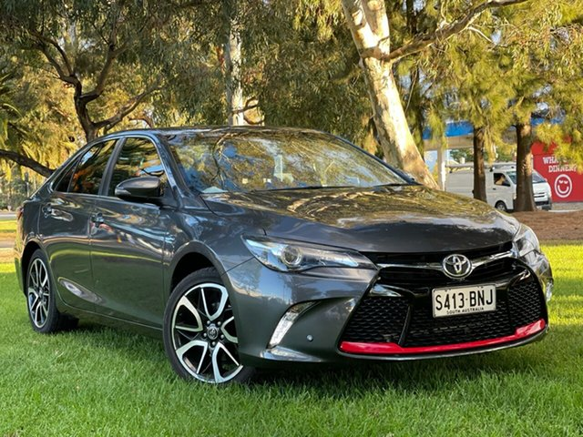 Used Toyota Camry ASV50R Atara SX Cheltenham, 2016 Toyota Camry ASV50R Atara SX Grey 6 Speed Sports Automatic Sedan
