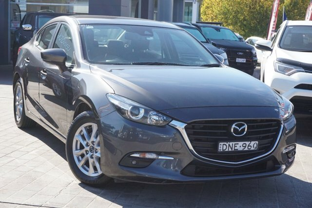 Used Mazda 3 BN5478 Maxx SKYACTIV-Drive Phillip, 2017 Mazda 3 BN5478 Maxx SKYACTIV-Drive Grey 6 Speed Sports Automatic Hatchback