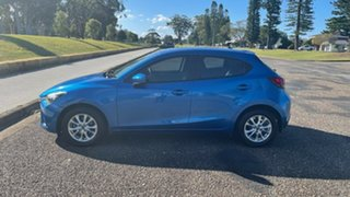 2014 Mazda 2 DE10Y2 MY14 Maxx Sport Electric Blue 4 Speed Automatic Hatchback