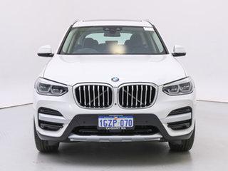 2019 BMW X3 G01 xDrive30I White 8 Speed Automatic Wagon.