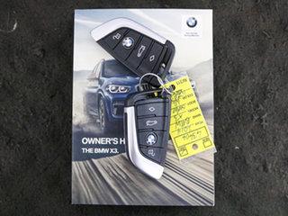 2019 BMW X3 G01 xDrive30I White 8 Speed Automatic Wagon