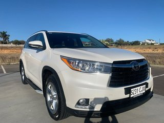 2016 Toyota Kluger GSU50R Grande 2WD White 6 Speed Sports Automatic Wagon.