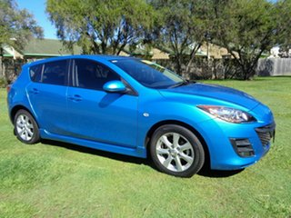 2011 Mazda 3 BL10F1 MY10 Neo Blue 6 Speed Manual Hatchback