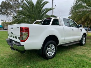 2019 Ford Ranger PX MkIII 2019.00MY XLT Arctic White 10 Speed Sports Automatic Super Cab Pick Up.