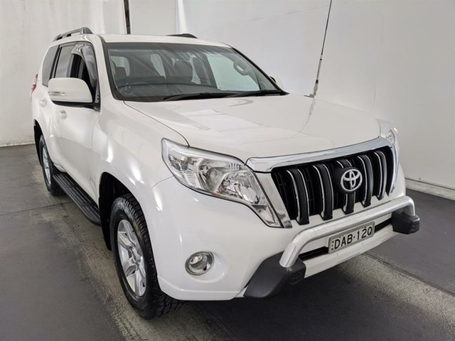 Used Toyota Landcruiser Prado GDJ150R GXL Maryville, 2015 Toyota Landcruiser Prado GDJ150R GXL White 6 Speed Sports Automatic Wagon