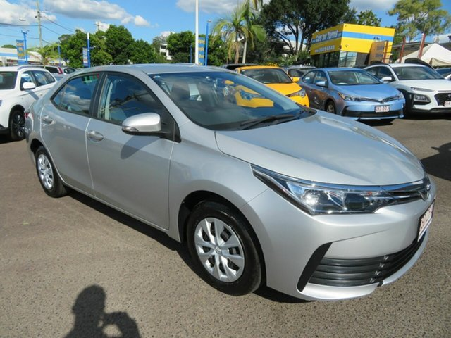 Used Toyota Corolla ZRE172R Ascent S-CVT Mount Gravatt, 2019 Toyota Corolla ZRE172R Ascent S-CVT Silver 7 Speed Constant Variable Sedan