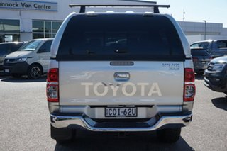 2013 Toyota Hilux KUN26R MY12 SR5 Double Cab Silver 5 Speed Manual Utility