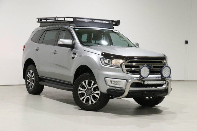 Used Ford Everest UA MY17 Trend Bentley, 2016 Ford Everest UA MY17 Trend Silver 6 Speed Automatic SUV