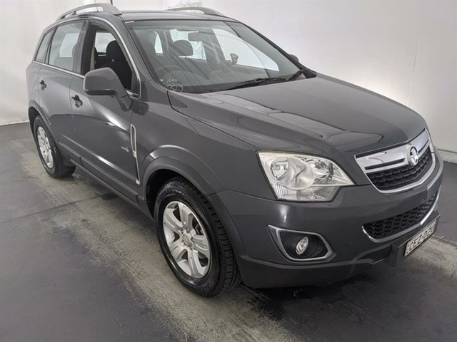 Used Holden Captiva CG Series II 5 AWD Maryville, 2011 Holden Captiva CG Series II 5 AWD Grey 6 Speed Sports Automatic Wagon