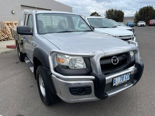 2008 Mazda BT-50 UNY0E4 DX Silver 5 Speed Manual Cab Chassis.