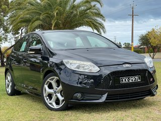 2012 Ford Focus LW MkII ST Black 6 Speed Manual Hatchback.