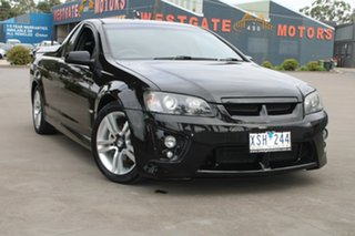 2010 Holden Commodore VE MY10 SV6 Black 6 Speed Automatic Utility.