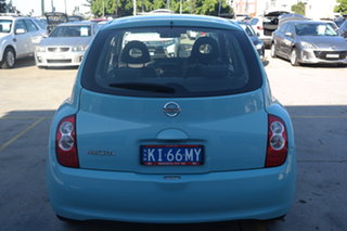 2008 Nissan Micra K12 Blue 4 Speed Automatic Hatchback