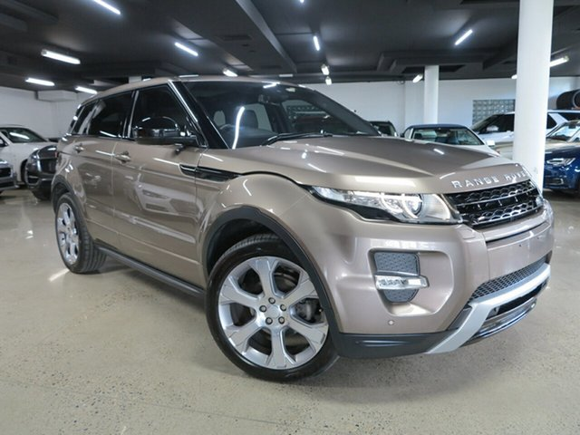 Used Land Rover Range Rover Evoque L538 MY15 Dynamic Albion, 2015 Land Rover Range Rover Evoque L538 MY15 Dynamic Bronze 9 Speed Sports Automatic Wagon