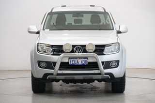 2014 Volkswagen Amarok 2H MY15 TDI420 4Motion Perm Ultimate Silver 8 Speed Automatic Utility.