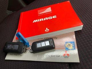 2013 Mitsubishi Mirage LA MY14 LS Blue 1 Speed Constant Variable Hatchback