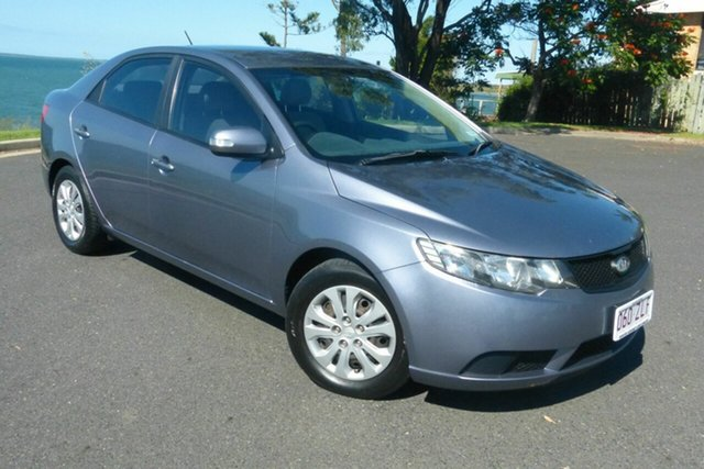 Used Kia Cerato TD MY10 S Gladstone, 2009 Kia Cerato TD MY10 S Grey 4 Speed Sports Automatic Sedan