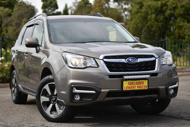 Used Subaru Forester S4 MY18 2.0D-L CVT AWD Enfield, 2018 Subaru Forester S4 MY18 2.0D-L CVT AWD Gold 7 Speed Constant Variable Wagon