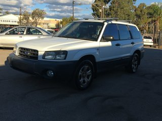 2004 Subaru Forester 79V MY04 X AWD White 4 Speed Automatic Wagon