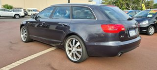 2006 Audi A6 4F Avant Multitronic Black 1 Speed Constant Variable Wagon