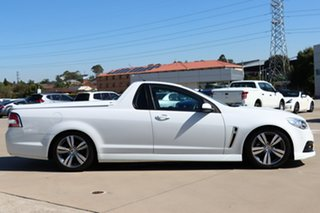 2014 Holden Ute VF MY14 SV6 Ute White 6 Speed Sports Automatic Utility