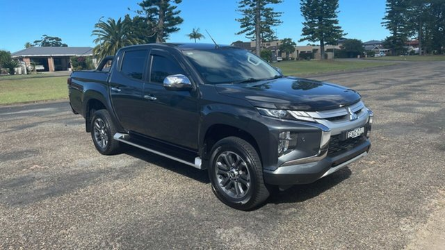Used Mitsubishi Triton MR MY20 GLS Double Cab Port Macquarie, 2019 Mitsubishi Triton MR MY20 GLS Double Cab Grey 6 Speed Sports Automatic Utility