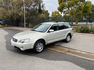 2006 Subaru Outback B4A MY06 AWD Sunlight Gold Opal 4 Speed Sports Automatic Wagon.