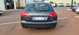 2006 Audi A6 4F Avant Multitronic Black 1 Speed Constant Variable Wagon