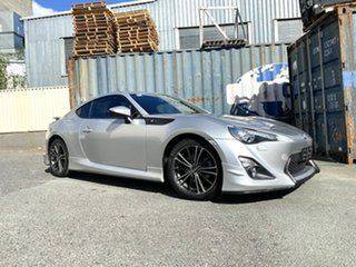 2013 Toyota 86 ZN6 GTS Silver 6 Speed Manual Coupe.